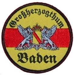 Stoffabzeichen - Aufnäher - Großherzogthum Baden