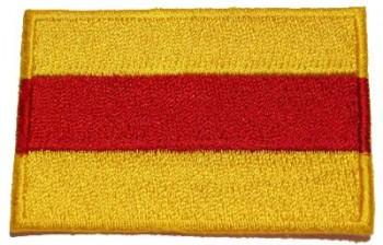 Stoffabzeichen - Aufnäher - Sticker Baden gelb rot gelb
