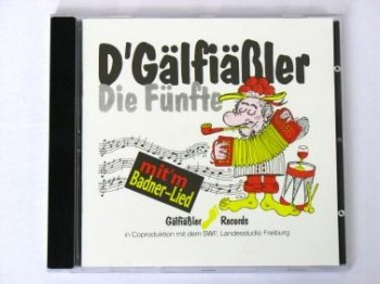 """D'Gälfiäßler """"Die Fünfte"""""""
