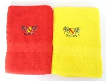 Handtuch gelb