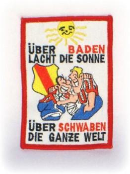 Stoffabzeichen - Aufnäher - Über Baden lacht die Sonne...