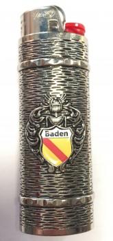 Feuerzeug mit Hülle Nickel