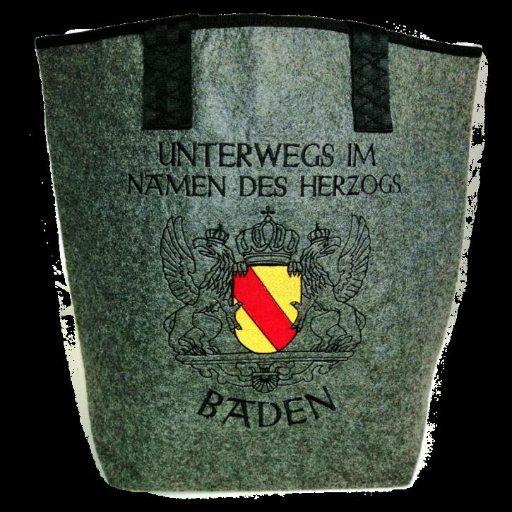 Filztasche Baden - Im Namen des Herzogs