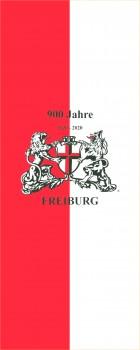 900 Jahre Freiburg mit Wappen Bannerfahne
