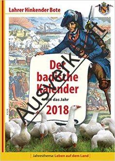 Der badische Kalender für 2018
