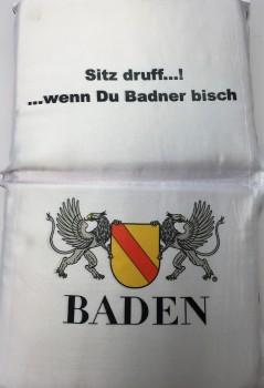 Sitzkissen Baden