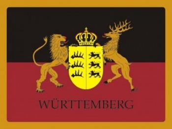 Alu-Schild Württemberg