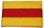 Sticker Baden gelb rot gelb