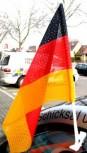 Autofahne Deutschland Premium Lochfilet