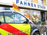 Autofahne Baden mit Wappen