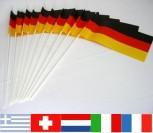 Papierfahnen 10er Pack