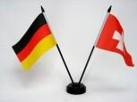 Tischfahne Länder mit Stab Niederlande