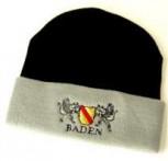 Mütze Baden schwarz/grau