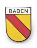 Pin Baden Schwarz Umrandet
