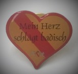 Pin Baden Herzform