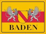 Alu-Schild Baden 30x20 cm