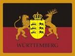 Alu-Schild Württemberg 30x20 cm
