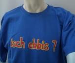 Qualitäts-Spruch-Shirt gelb / L