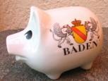Sparschwein Baden