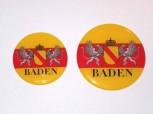3-D Label Baden