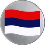 3-D Label Serbien