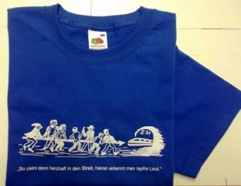 Qualitäts-T-shirt Stuttgart 21