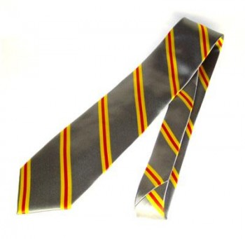 Krawatte Baden Design 3 grau und diagonal