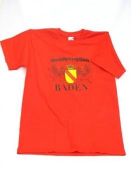Qualitäts-T-Shirt GHZ-Baden rot / XXL