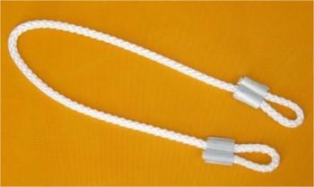 Fahnenmastschlinge - Seil mit Kauschenpressung für Masten mit Durchmesser von z.B 55,75,90,100 mm