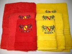 Handtuch Set gelb