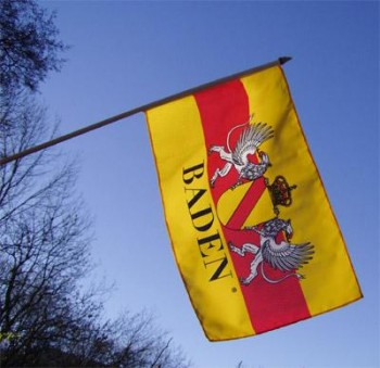 Stockfahne mit Wappen