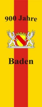Bad. Bannerfahne 900 Jahre Baden