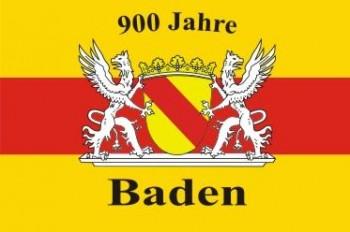 Bad. Hissflaggen 900 Jahre Baden 60x90
