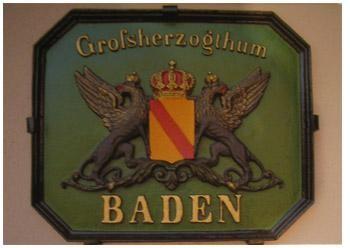 Postkarte Großherzogthum Baden