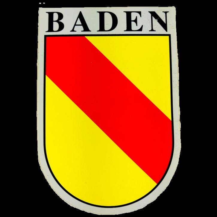 Aufkleber Baden in Wappenform