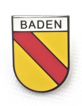 Pin Baden groß - Schwarzer Rand