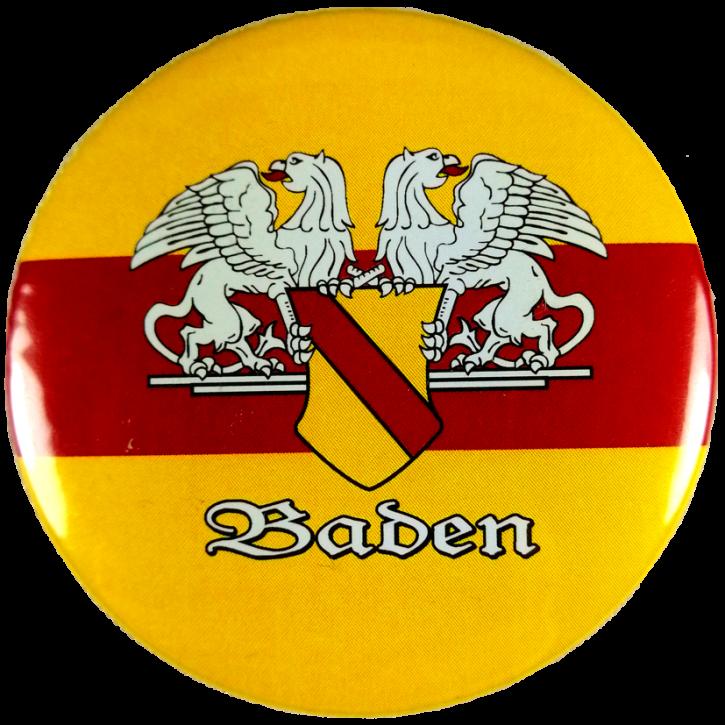 Button Baden mit Wappen klein