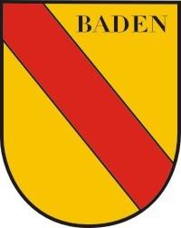 Baden in Wappenform mittel