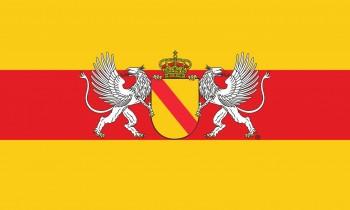 Bad. Hissflaggen mit Wappen und Greifen (ohne Schriftzug Baden)