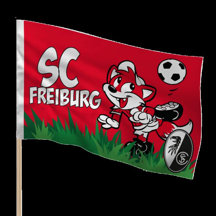 SC Freiburg Füchsle Fahne