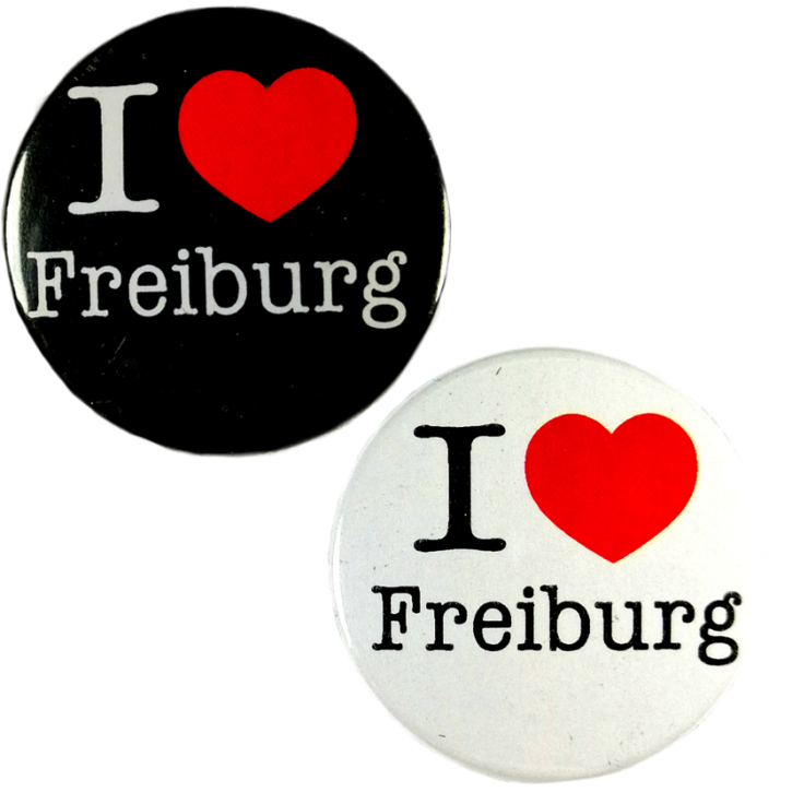 I ♥ Freiburg mini-Button