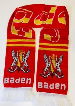 Balkenschal Baden Rot