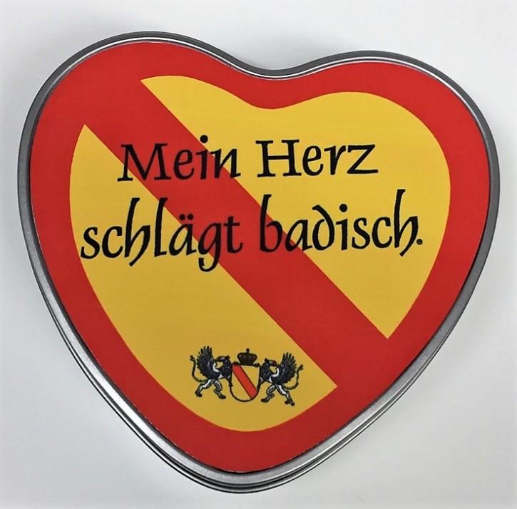 Dose Herzform Baden