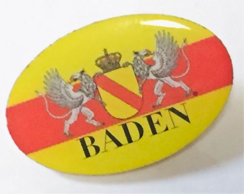 Pin Baden oval