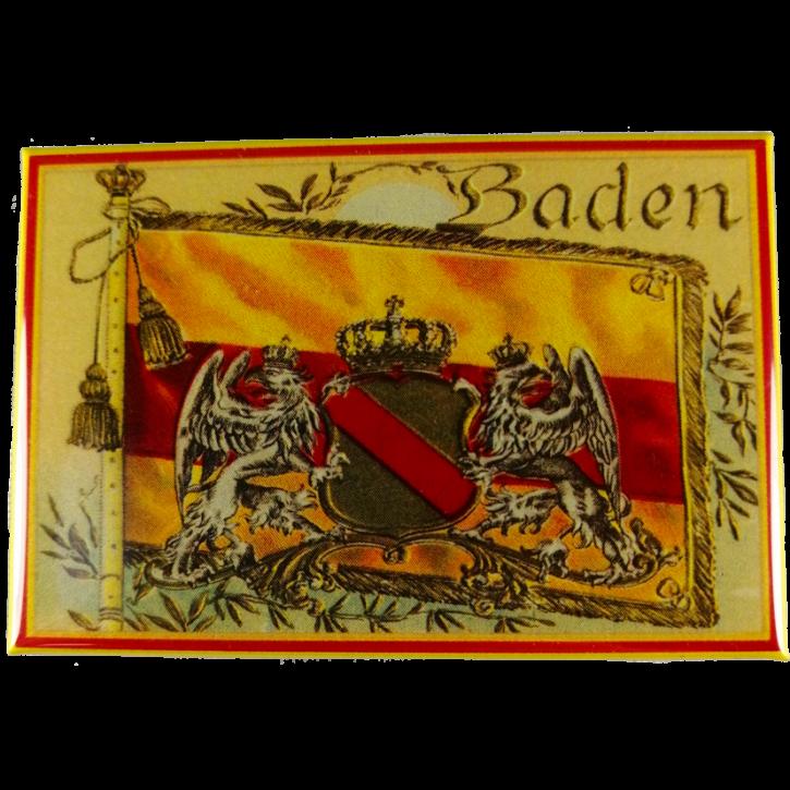 Kühlschrankmagnet Baden Historisch Baden