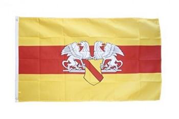 Republik Baden mit Wappen und Greifen