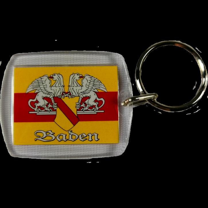 Schlüsselanhänger Baden - Kunststoff