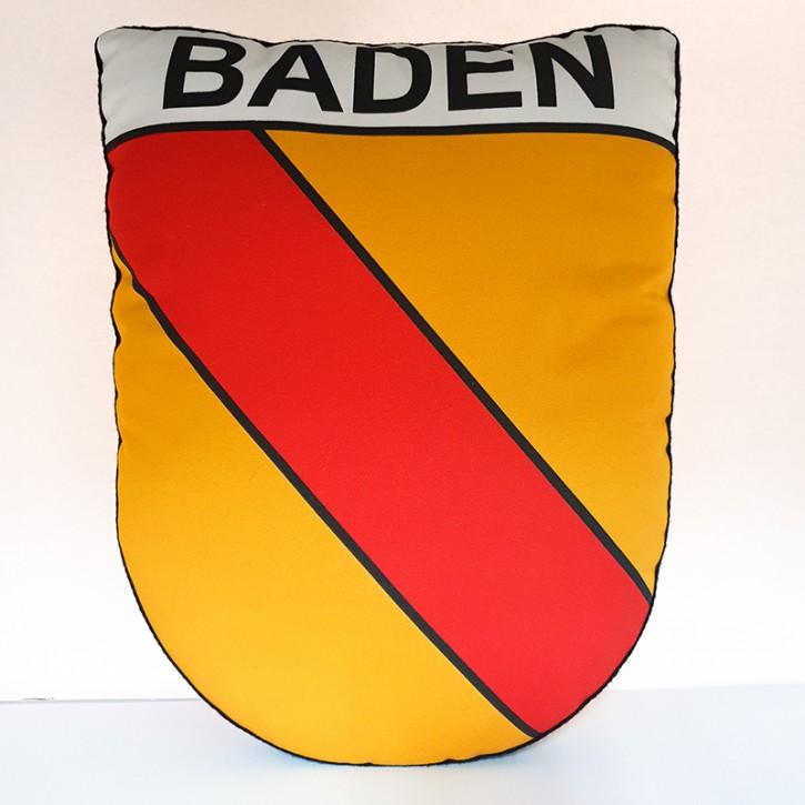 Kissen in Wappenform - Baden