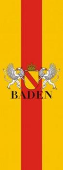 Bad. Bannerfahne mit Wappen 120x300