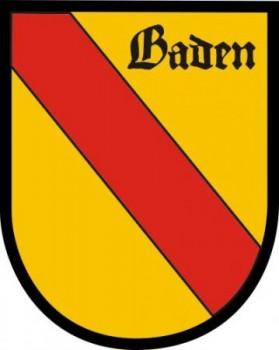 Baden in Wappenform klein